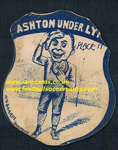 1880s oldest Ashton u Lyne FC footy card in the world!