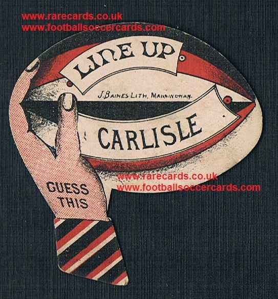 1880s Pears Soap Baines rugby ball Guess This Line Up Carlisle card