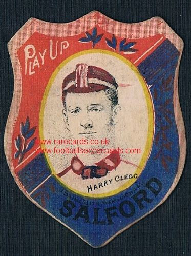 1890 Harry Clegg Salford Baines card