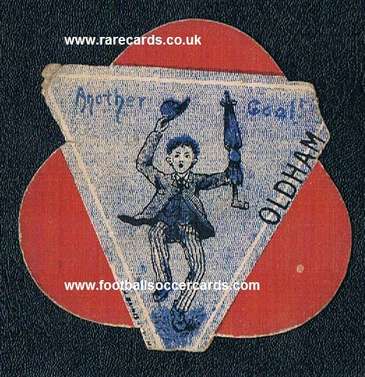 1890s Oldham Athletic Pears Soap clover