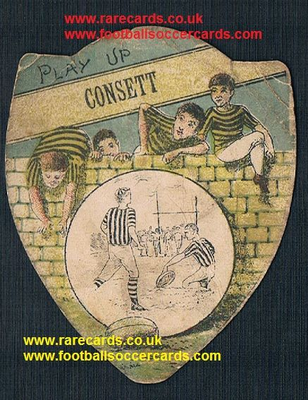 1900 Consett trade card by Baines of Bradford