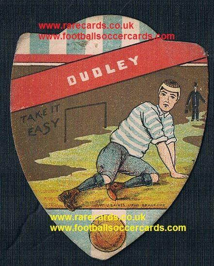 1900 Dudley F.C. Baines card WBA and Wolves interest