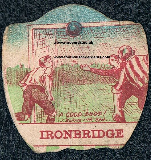 1900 Ironbridge Baines bargain damaged