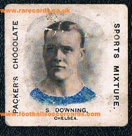 1909 Sam Downing QPR Chelsea Packer