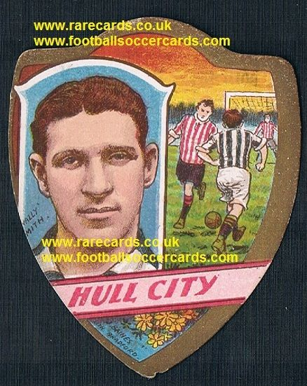 1911 Hull City Wally Smith Baines card Bradford C Leicester Fosse