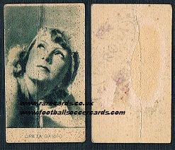 1920s Italian Greta Garbo trade card