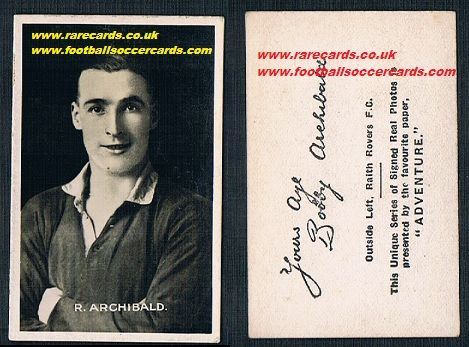 1922 Archibald Raith Adv Signed