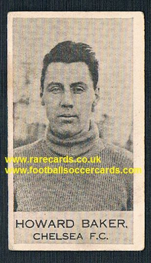 1922 Ben Howard Baker Chelsea Everton Liverpool Clarnico Poppleton