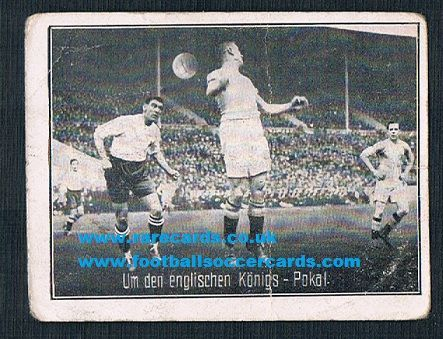 1926 Greiling German tobacco Bolton Wanderers v Manchester City F.A. Cup final '36 note AMR rear