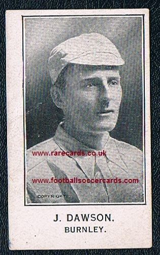1926 Jerry Dawson Burnley England Barratt