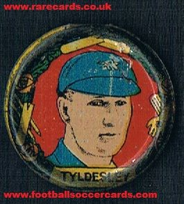 1929 Nelson Lee metal Tyldesley