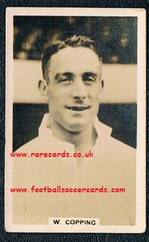 1936 Scerri Wilf Copping Leeds Arsenal