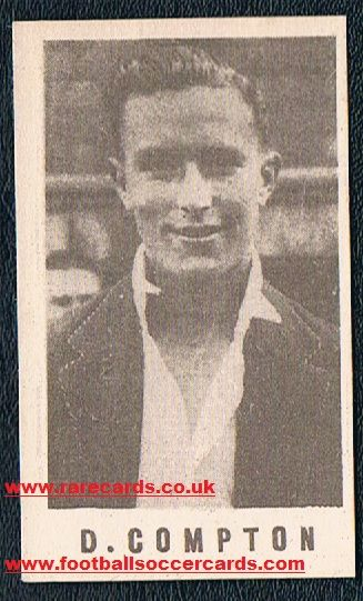 1946 Denis Compton Arsenal Coles card