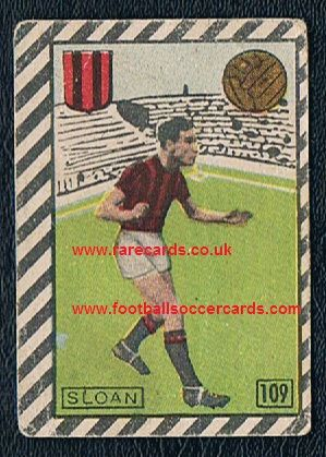 1948 Cicogna Paddy Sloan Arsenal Posh Bees