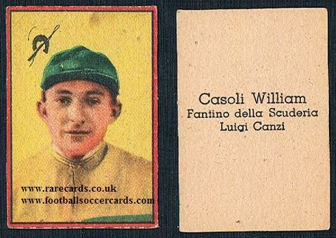 1948 Nannina flat hunt horse jockey William Casoli Luigi Canzi