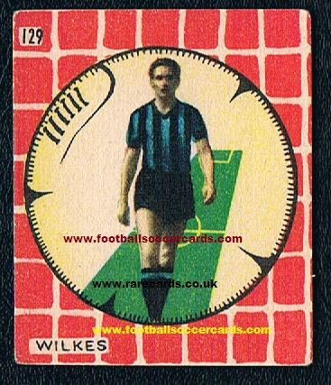 1950/51  Wilkes Cicogna Miglioli 2-sided
