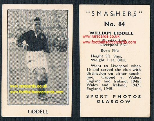 1950 Frame Sport Photos Smashers Billy Liddell 84 Liverpool