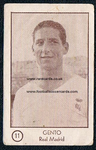 1953 Arga  11 Gento rookie Real Madrid