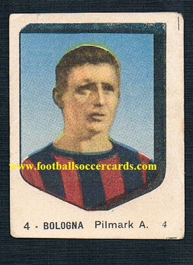 1954 VAV card of Axel Pap Pilmark of Bologna KB and Danmark from Italy