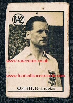 1954 WC54 Tom Finney  Yugo card