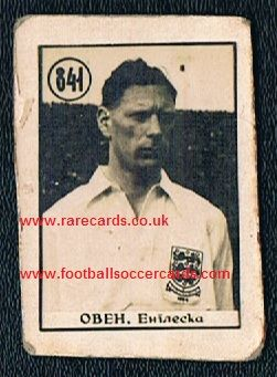 1954 World Cup Luton Brum Syd Owen YUG