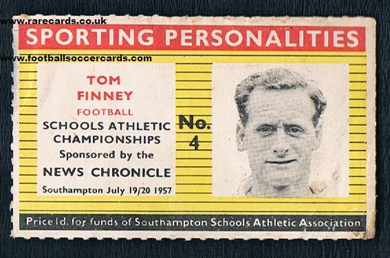 1957 News Chronicle Tom Finney Preston