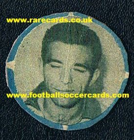 1958 rookie Vava Brazil issue pog