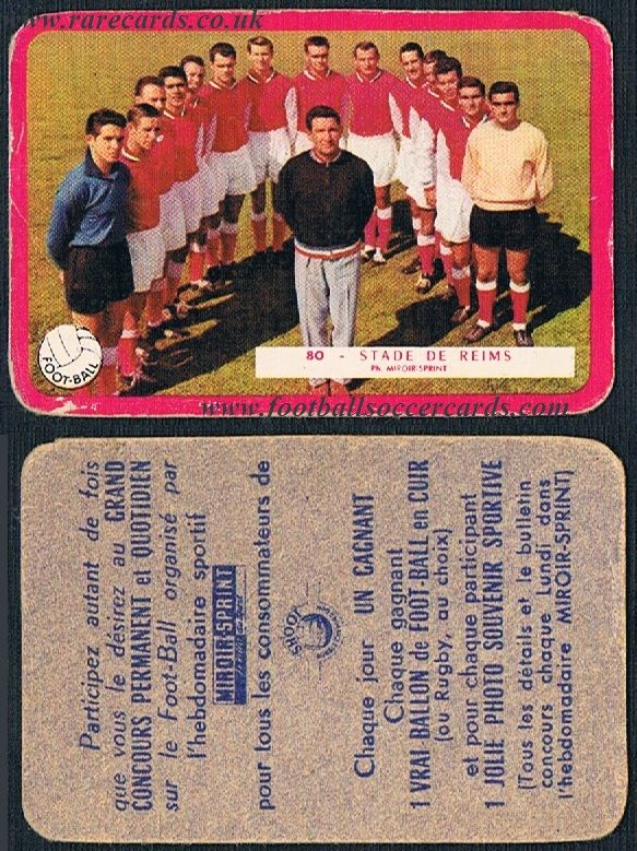 1959 Stade Reims 80 Miroir Sprint