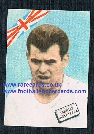 1960s Spanish FKS DisgraFher John Connelly Burnley Bury BR Man Utd England