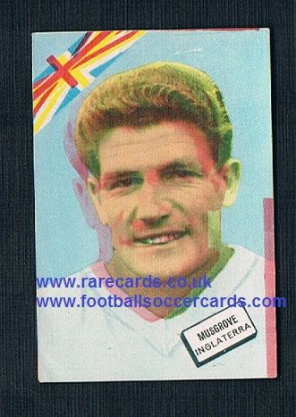 1960s Spanish FKS DisgraFher Malcolm Musgrove Orient WHU England