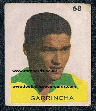 1961/62 Chilean issue Garrincha
