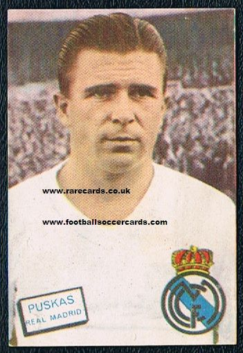 1961 Fher Puskas Real Madrid