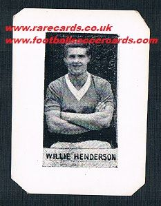 1961 Midgy Rangers Willie Henderson