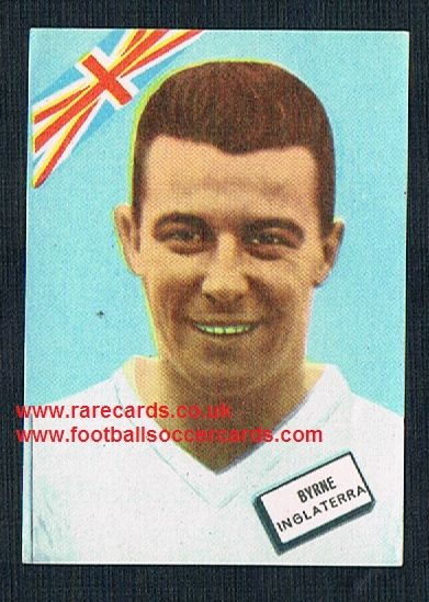 1962 Crystal Palace West Ham Johnny Byrne Disgra Fher WC62, plain back as new