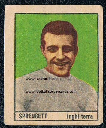 1962 Ron Springett QPR Wednesday