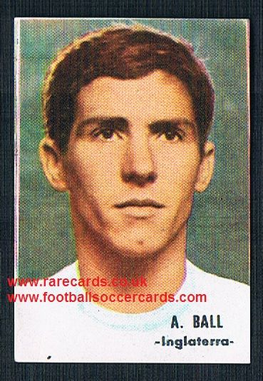 1966 SPAIN 1966 Alan Ball Blackpool England Everton FHER FKS football sticker