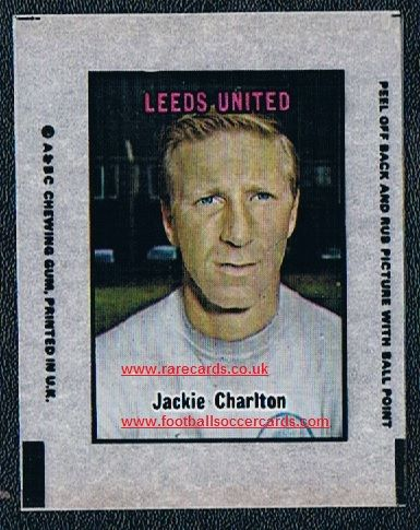 1970 A&BC Transfer  Charlton Leeds
