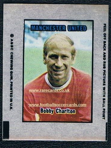1970 A&BC Transfer Charlton Man. United