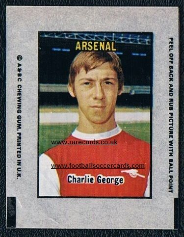 1970 A&BC Transfer George Arsenal