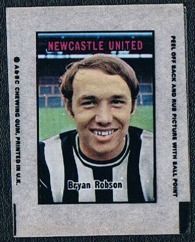1970 A&BC  Transfer Newcastle Robson