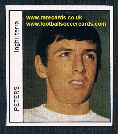 1970 Italy PEOPLE MAG Martin Peters West Ham unused sticker