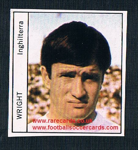 1970 Italy PEOPLE MAG Tommy Wright Everton unused sticker