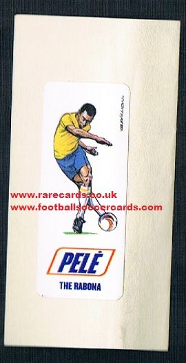 1970s Trevillion Rabona Pele sticker