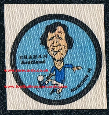 1974 Fleer Graham Arsenal + wrapper