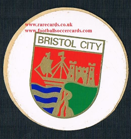 1974 Lucky Bag FasPrint sticker Bristol City