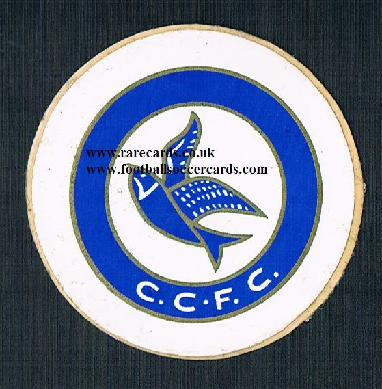 1974 Lucky Bag FasPrint sticker Cardiff