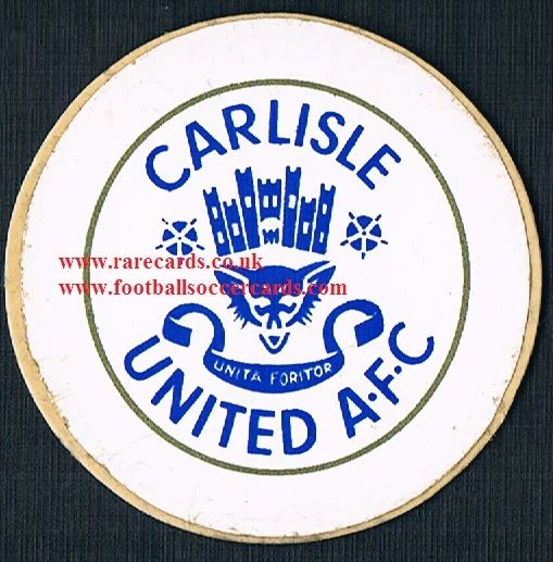 1974 Lucky Bag FasPrint sticker Carlisle United
