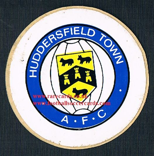 1974 Lucky Bag FasPrint sticker Huddersfield T
