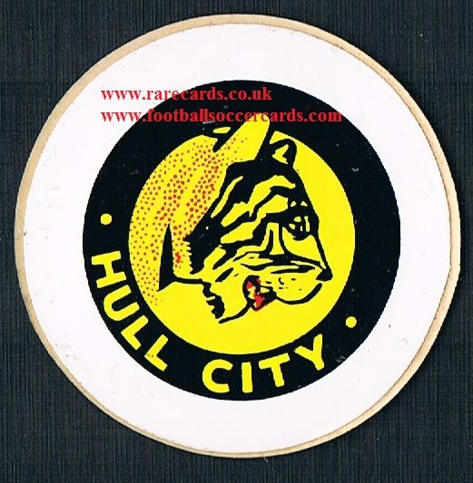 1974 Lucky Bag FasPrint sticker Hull City