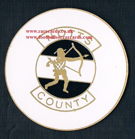 1974 Lucky Bag FasPrint sticker Notts County
